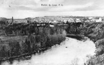 Rivière-du-Loup en 1912. Crédit: Bibliothèque et Archives Canada. No. MIKAN: 3261070
