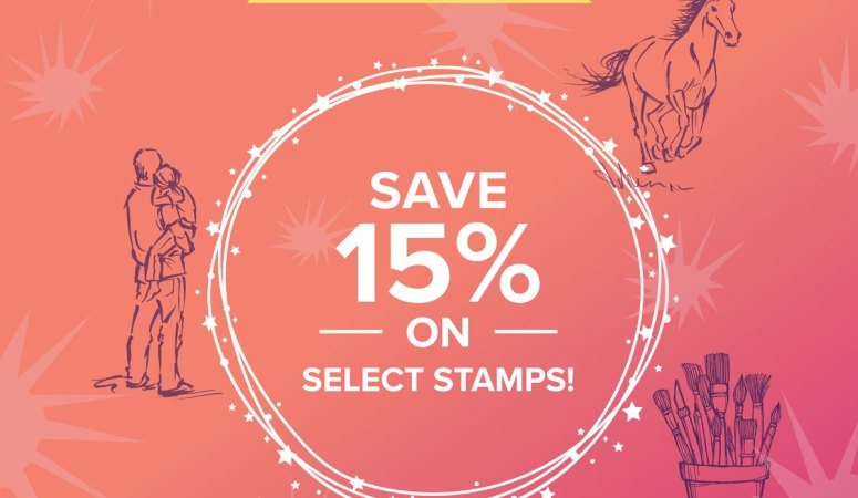 Stamp Sale October 23rd!