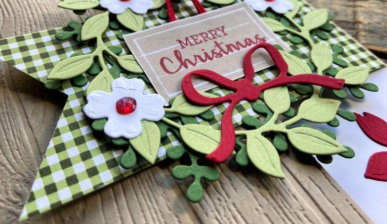 Arrange A Wreath Christmas Cards