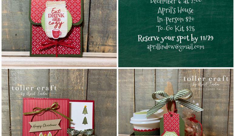 Christmas Treats & Gift Cards Class