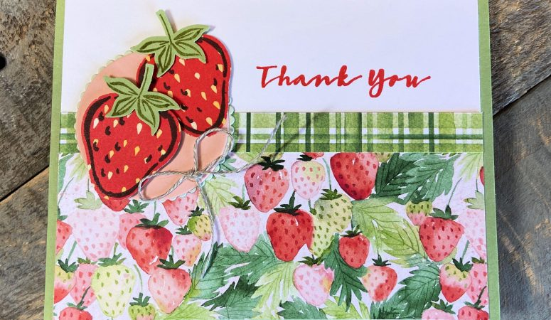Sweet Strawberry Thank you