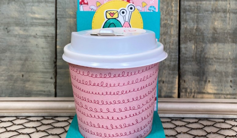 Snail Mail Coffee Cup Gift Card Holders