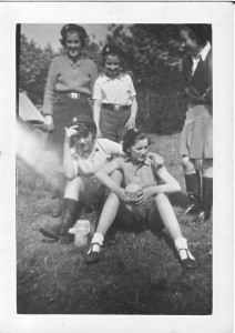 Guides in camp at Woodhouse Eaves