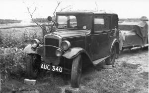 Alans car 1956 57