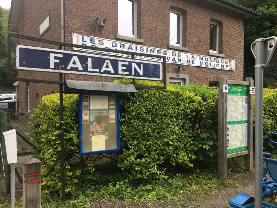Railbikes in Falaen Belgium
