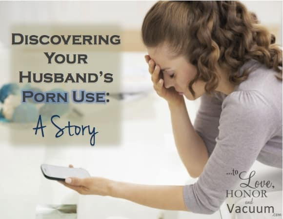 A story about discovering your husband's porn use. God can do a new thing!