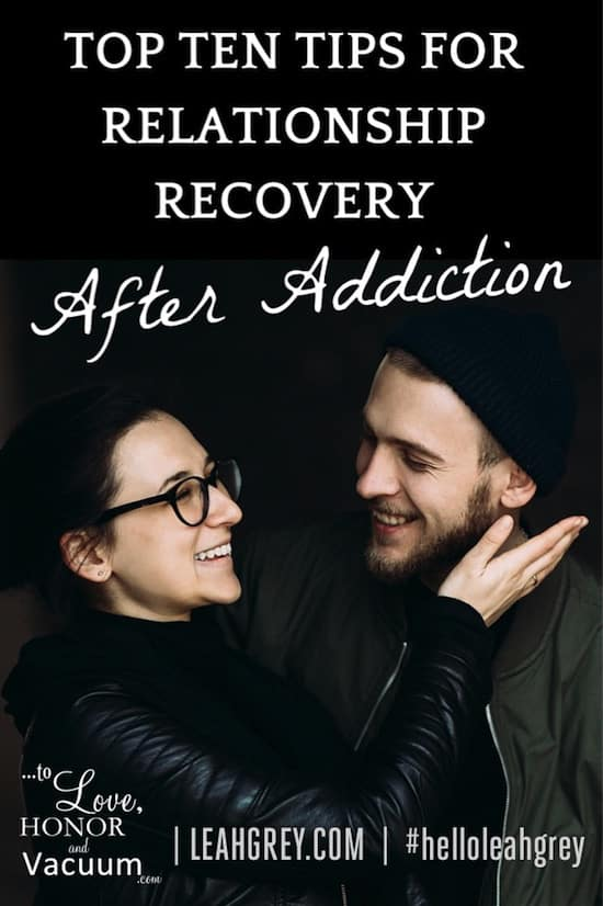 10 Things you must know to rebuild your marriage after an addiction, whether it's to alcohol, gambling, pornography, or drugs.