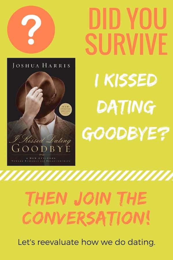 """Joshua Harris is Reconsidering I Kissed Dating Goodbye. Maybe we should, too? Join the conversation about """"I Survived I Kissed Dating Goodbye""""!"""