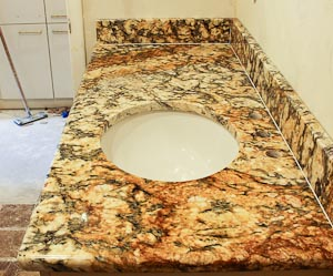 granite vanity top granite bathroom