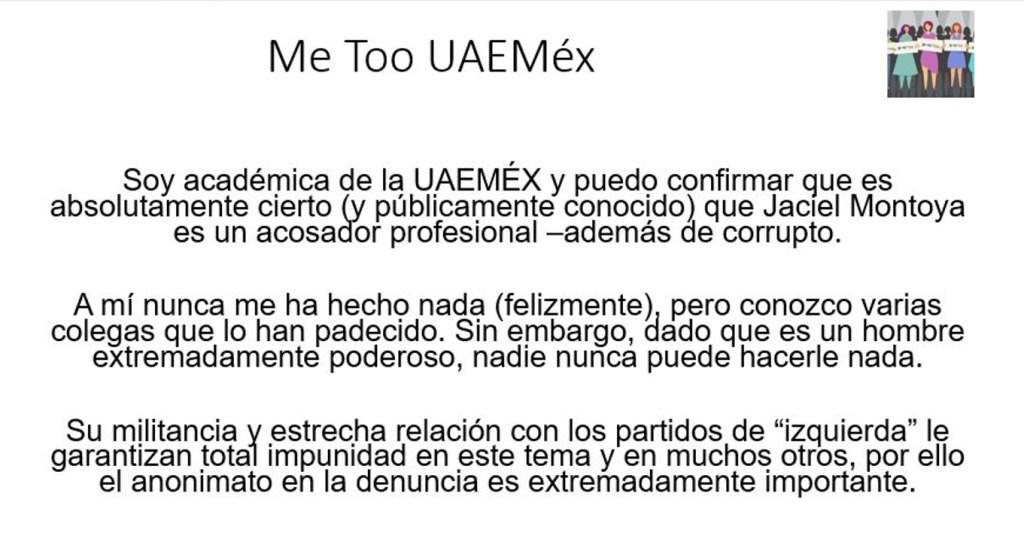 Denuncian corrupción en la UAEMEX