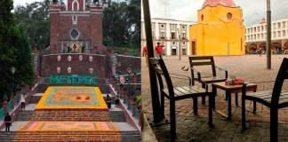 Tapete Monumental Feria del Alfeñique Toluca 2019