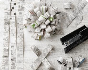 envolturas reciclables para regalos de navidad