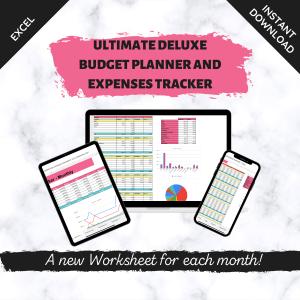 Deluxe Budget Planner & Expenses Tracker