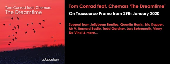 OUT NOW – Tom Conrad feat. Chemars 'The Dreamtime'