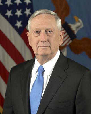 Secretary of Defense James Mattis