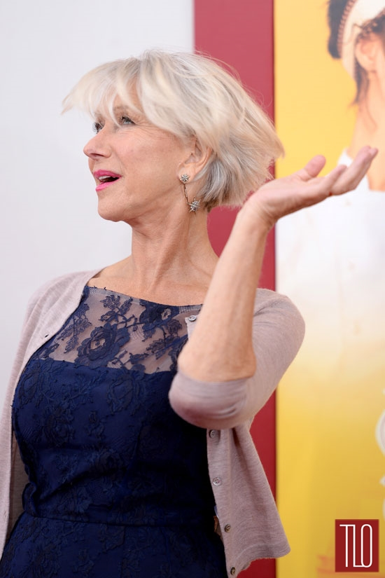 Helen Mirren At The The Hundred Foot Journey New York