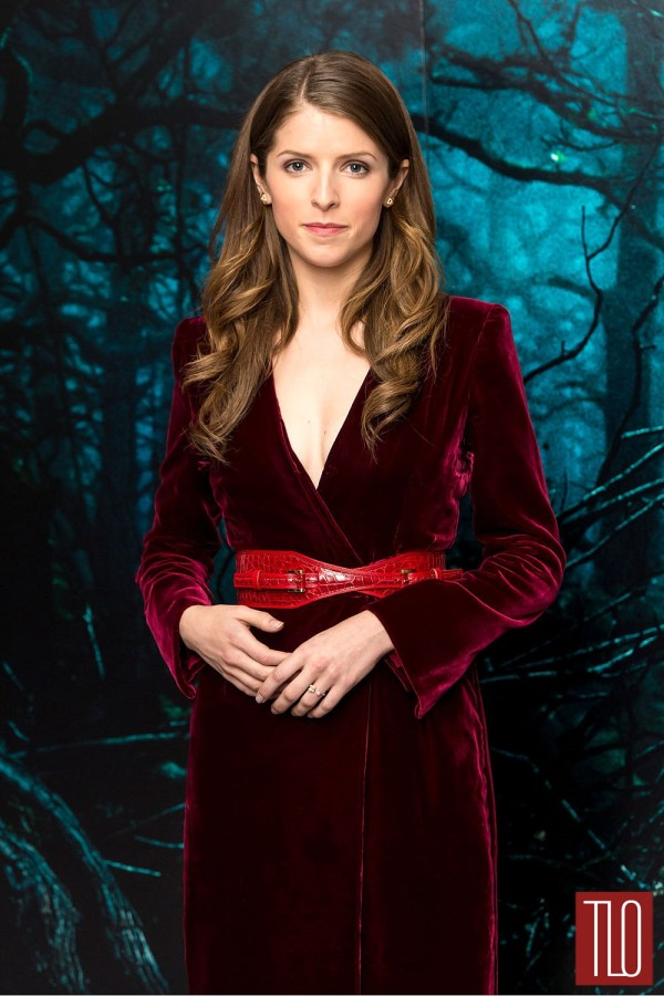 "Anna Kendrick in Oscar de la Renta at the ""Into The Woods ..."