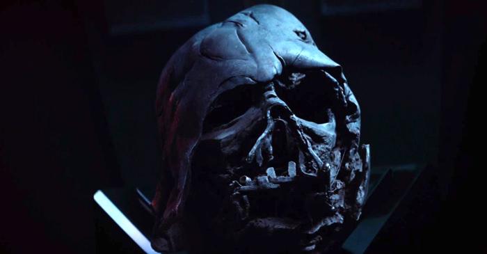Melted Darth Vader Helmet Star Wars The Force Awakens