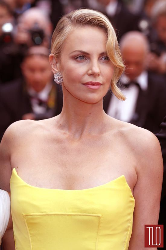 Cannes 2015 Charlize Theron In Christian Dior Couture