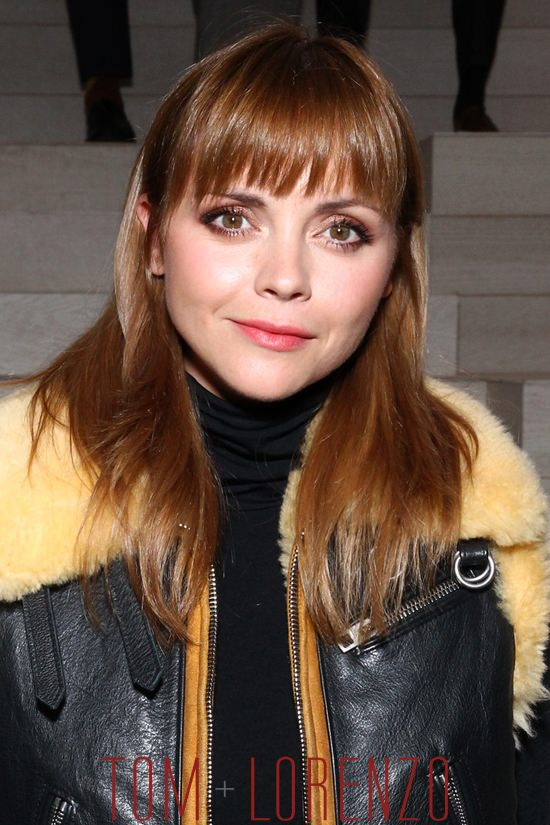 Christina Ricci At The Coach Spring 2016 Show Tom Lorenzo
