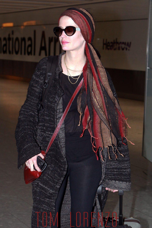Eva Green Arrives At The Heathrow Airport Tom Lorenzo