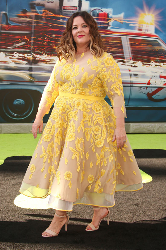 Melissa McCarthy Ghostbusters Movie Premiere Red Carpet Fashion Judy     Archives