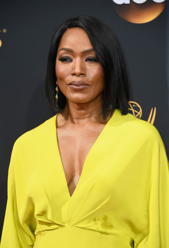 2016 Emmys Angela Bassett In Christian Siriano Tom