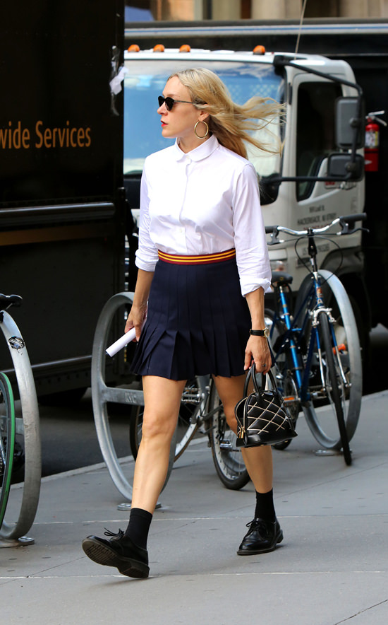 Chlo Sevigny Out And About In The East Village Tom