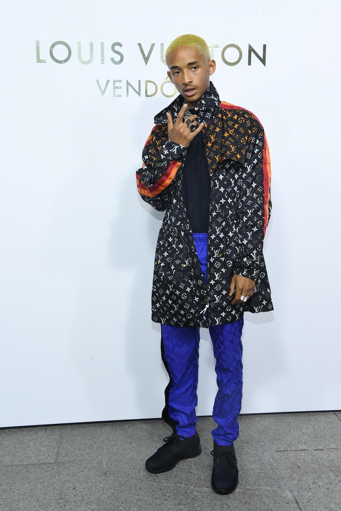 Jaden Smith LVs It Up For The Louis Vuitton Boutique