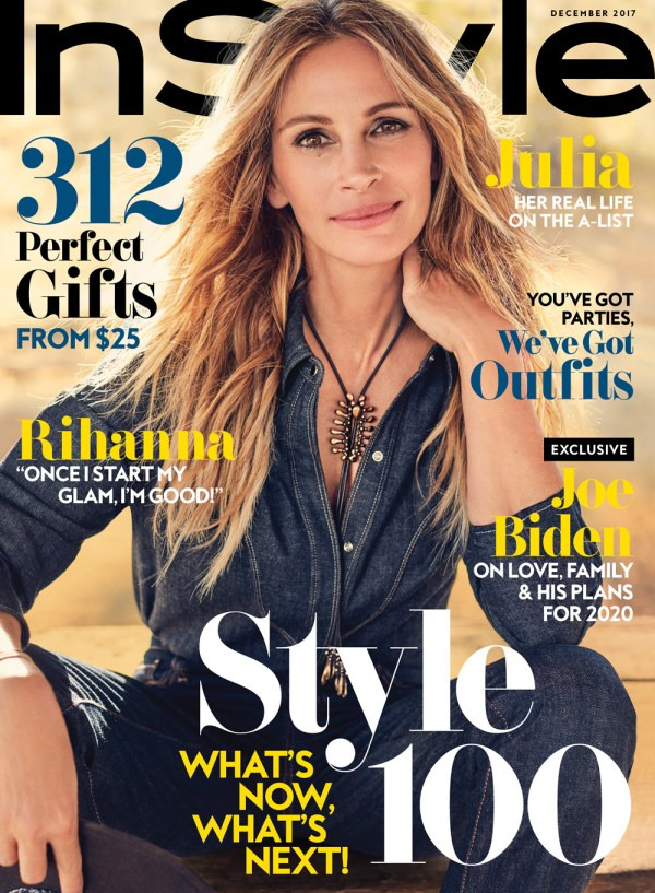 Julia Roberts Covers the December Issue of InStyle ...