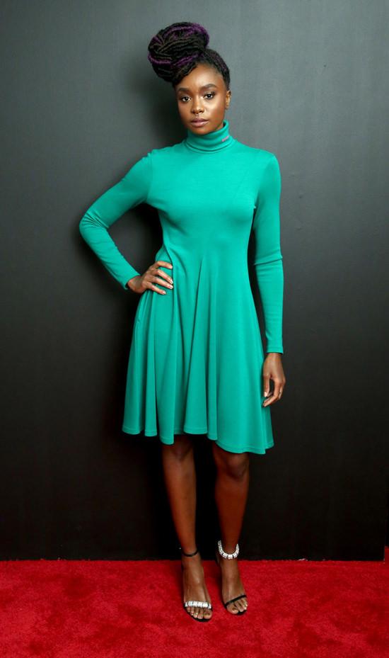 New York Fashion Week Calvin Klein Fashion Show Red