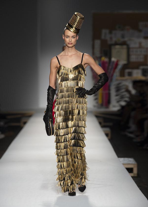 Milan Fashion Week Moschino Spring 2019 Collection Tom