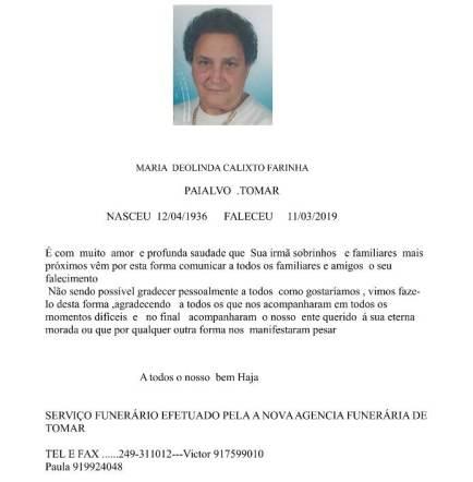 MARIA DEOLINDA CALIXTO FARINHA-1