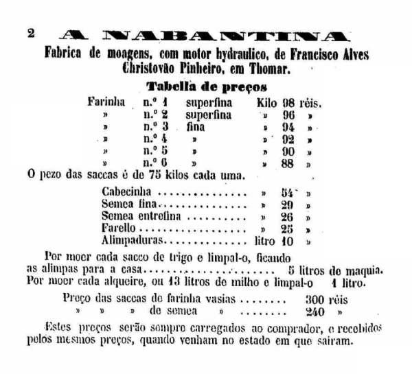 moagem A Nabantina 1883 2bc3bdb83d2ea7ab16fc