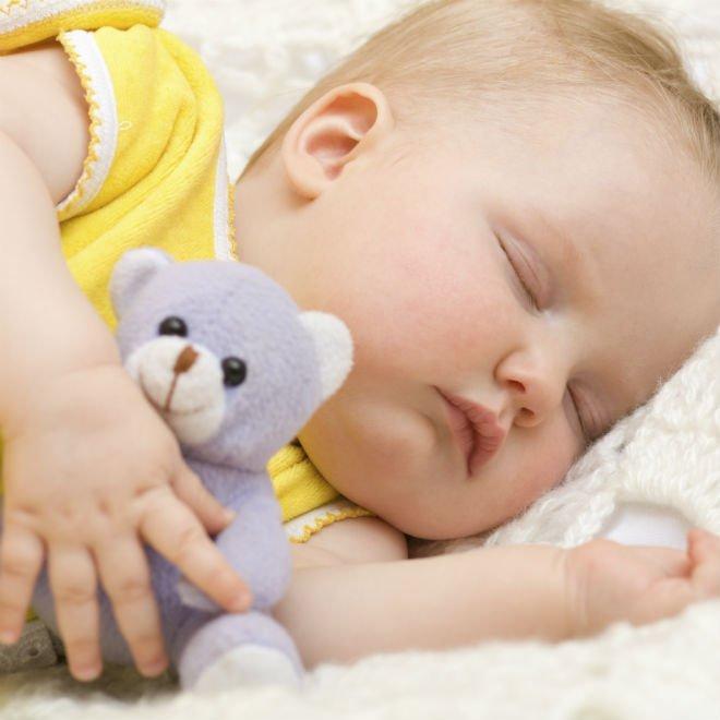 sleeping baby article