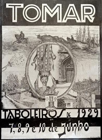 Festa dos Tabuleiros 1929 1929 cartaz 1