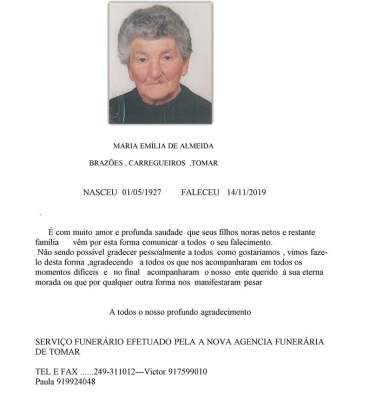 MARIA EMILIA DE ALMEIDA