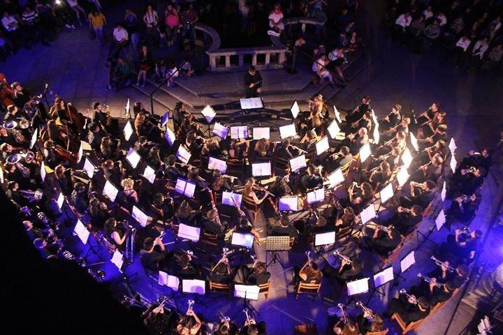 orquestra sopros canto firme