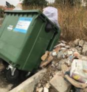 lixo machuca Caminho Santiago 4