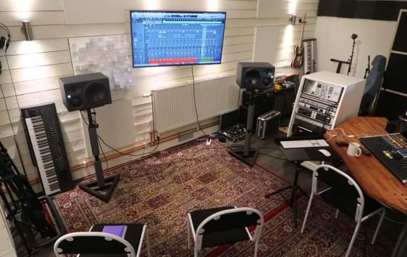 Kurs i Mixning och Mastring på Studiohuset i Göteborg - Interiör