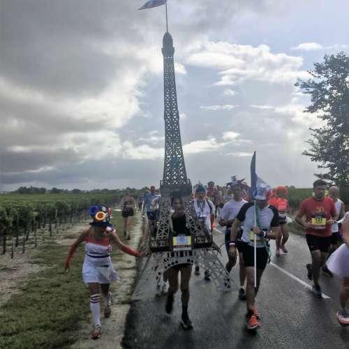 Medoc Marathon 2017 - Eiffeltornet