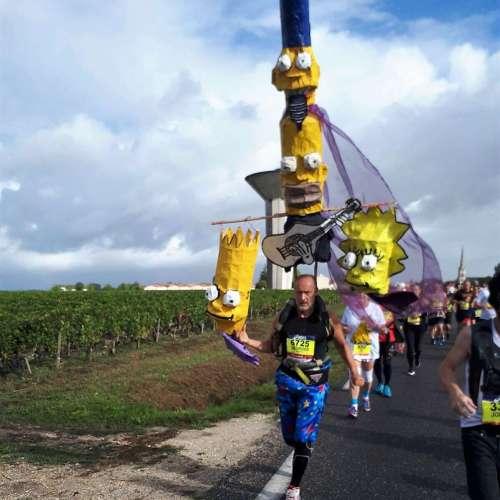 Medoc Marathon 2017 - Simpsons