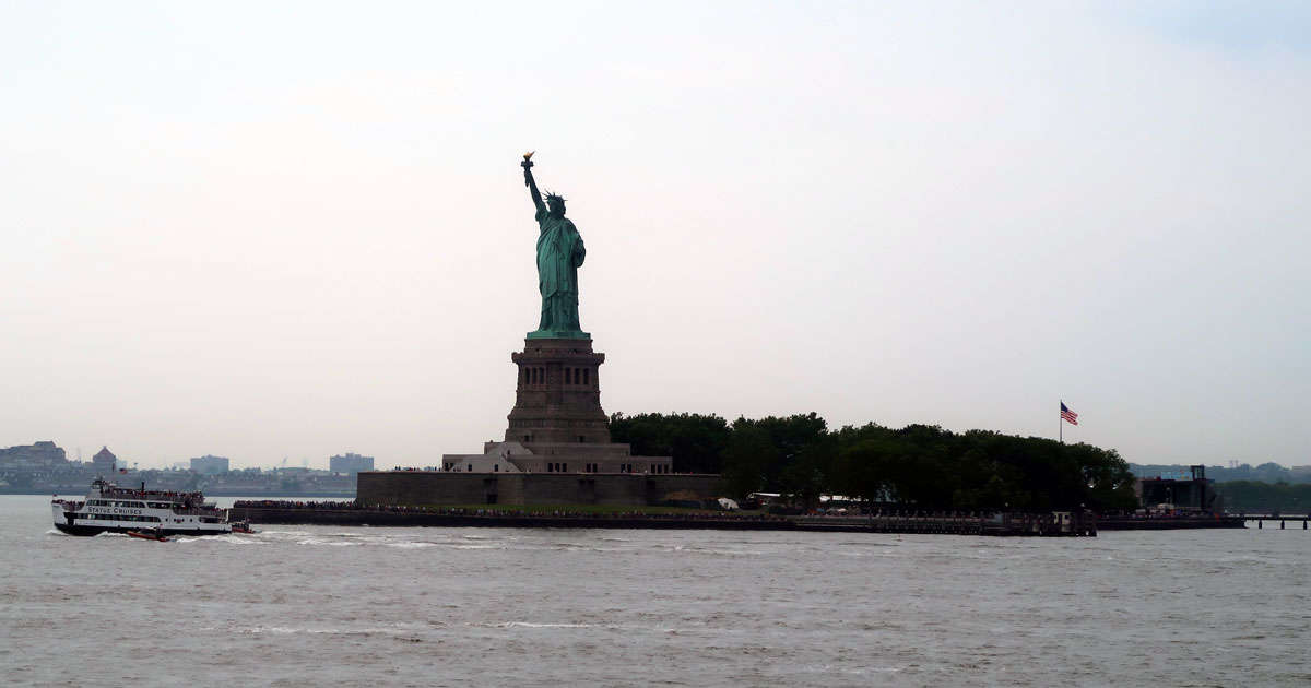Resa till USA - Statue of Liberty