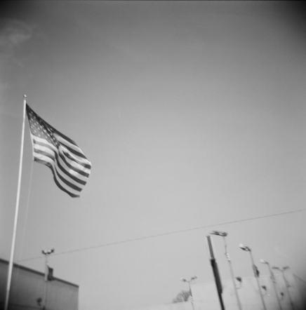 Flag of America, Detroit