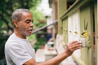 Melvin Nash, painter.