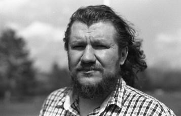 Luka Dziubyna, painter, filmmaker, philosopher.
