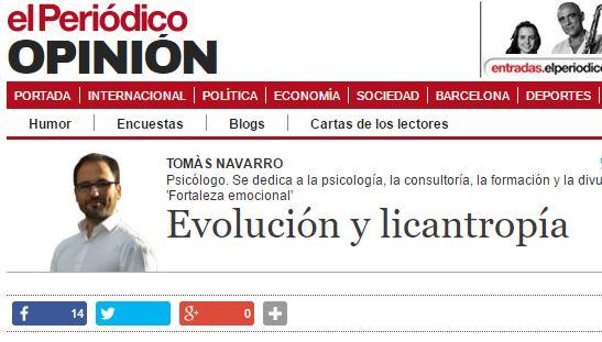39. evolución y licantropia