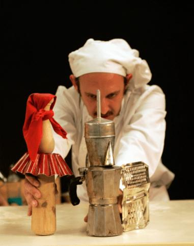 Cuentos de Pan y Pimiento. Dirección Claudio Hochman. Foto Concha Laverán