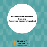 Interview with David Åse from the Spark web framework project