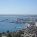 Playas y puerto de Alicante